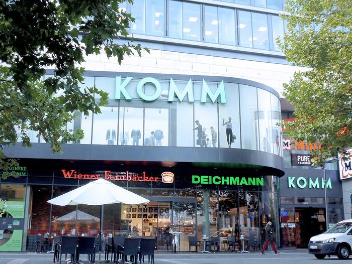 Shoopingcenter KOMM Offenbach Außenansicht