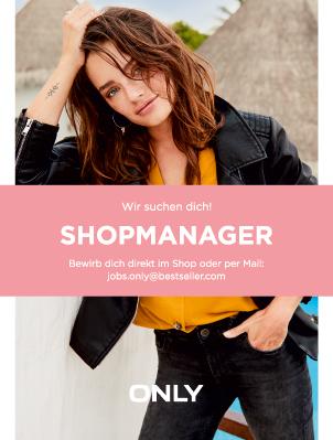 Stellenangebot Shopmanager bei Only im KOMM Offenbach